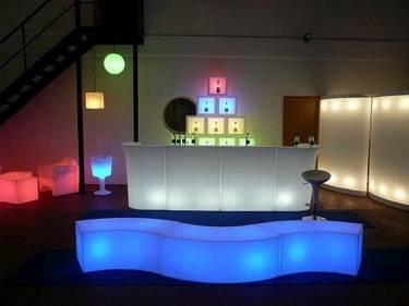 Illuminated Furniture