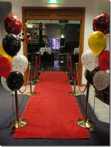 Red Carpet and Bollards